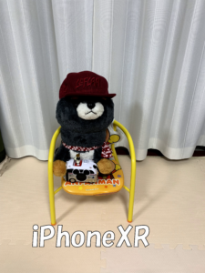 iPhoneXRの写真