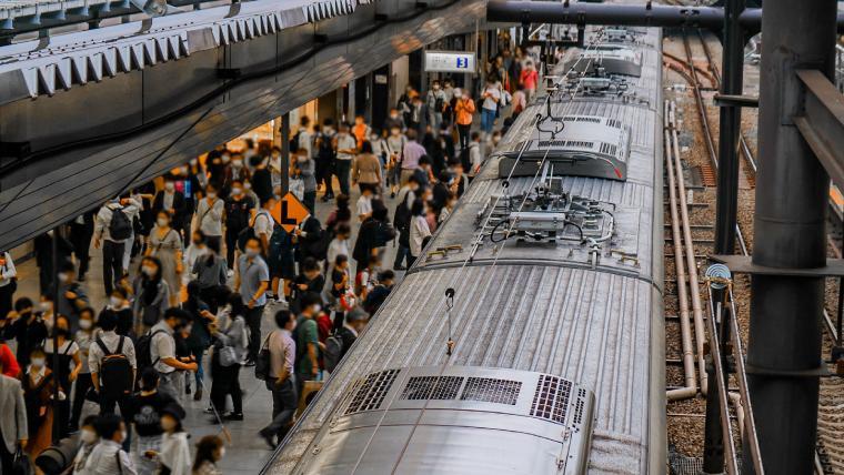 東京の満員電車は変な人が異常に多いのでストレスが溜まってツライ
